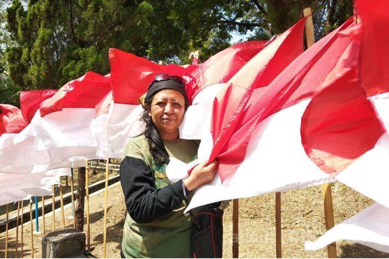 Hana Nining Kurnia: Bhinneka Tunggal Ika Terpancar dari Gebyar 10.001 Merah Putih