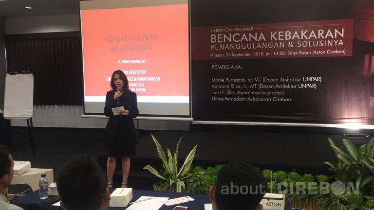 Aston Cirebon Gelar Seminar Gratis Penanggulangan dan Solusi Bencana Kebakaran