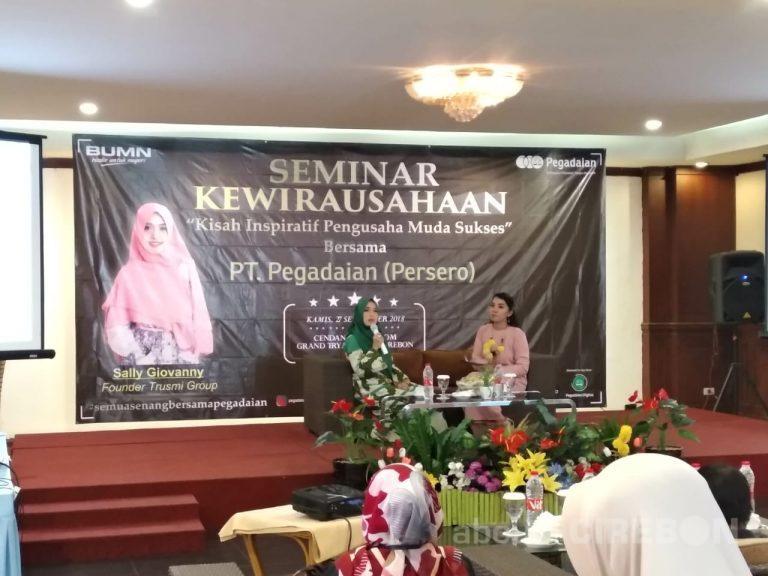 Pegadaian Area Cirebon Tambah Motivasi dan Sharing Bisnis Melalui Seminar Kewirausahaan