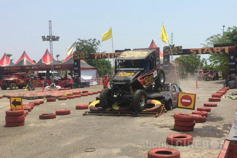 Sebanyak 37 Off Roader Ikuti Kejuaraan Super Adventure Monster Road di Kota Cirebon