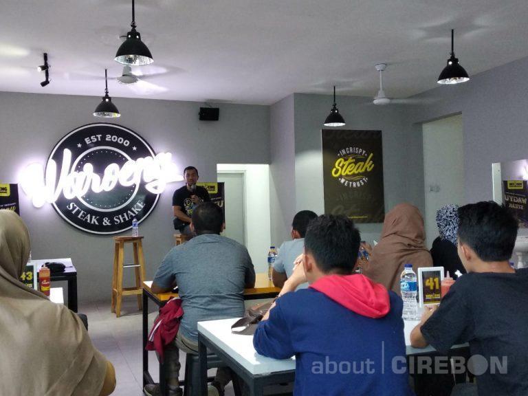 Sharing Bisnis Ala Waroeng Bersama Owner Waroeng Steak and Shake