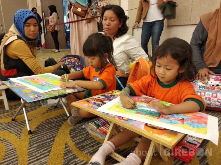 Keceriaan Coloring Festival Bersama Anak-anak TK di Swiss-Belhotel Cirebon