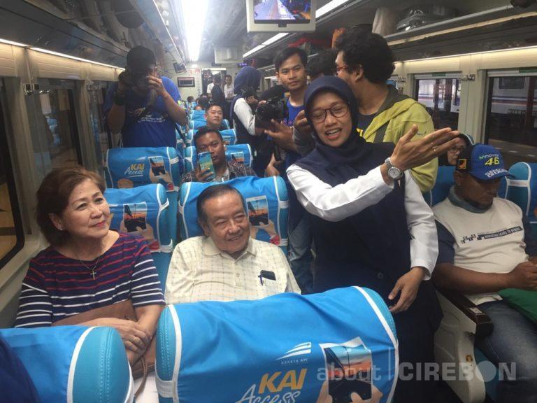 Daop 3 Cirebon Ganti Rangkai KA Argo Jati dengan Stainless Steel