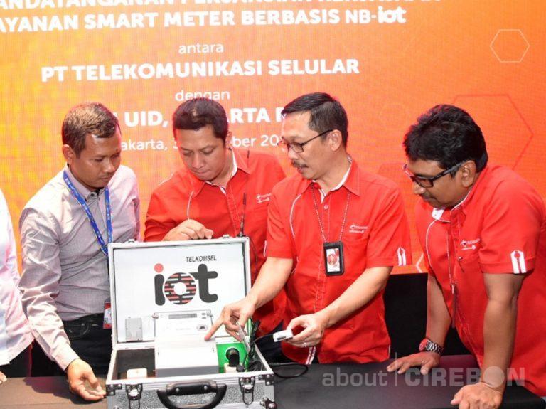 Telkomsel dan PLN DISJAYA Implementasikan Inovasi NB-IoT Smart Meter