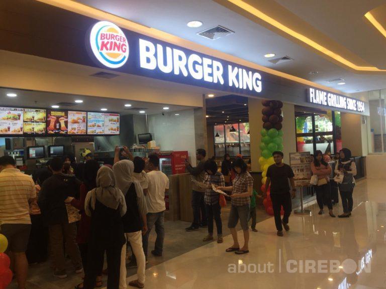 Hore! Burger King Kini Hadir di Kota Cirebon