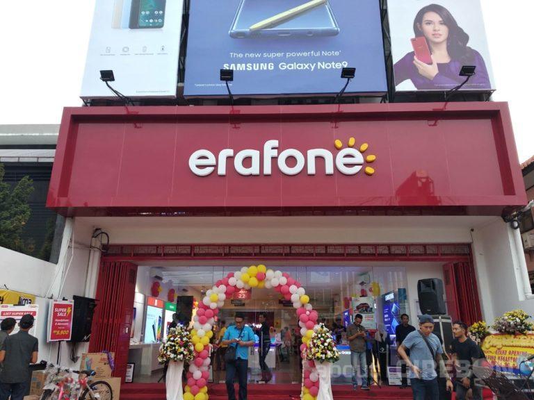 Erafone Megastore Resmi Buka Cabang ke-40 di Kota Cirebon