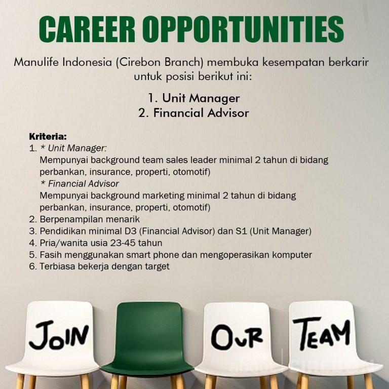 Manulife Career Opportunities