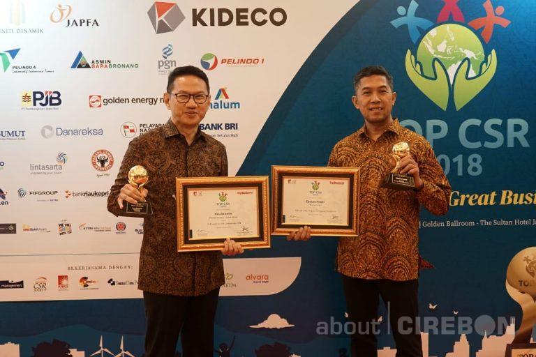 Cirebon Power Raih Dua Penghargaan di Ajang Top CSR 2018