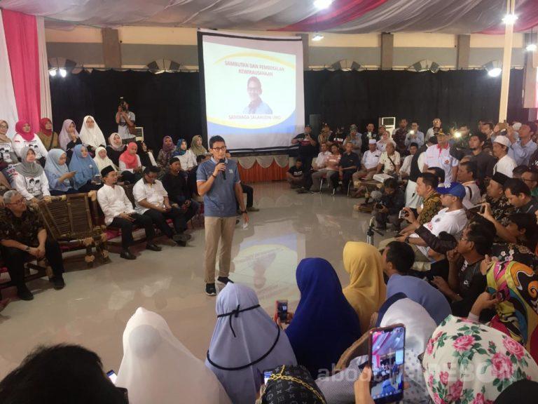 Sandiaga Uno: UKM di Cirebon Memiliki Potensi yang Luar Biasa