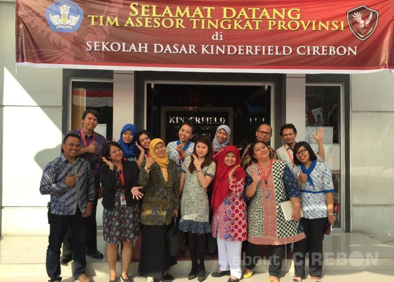 Tingkatkan Mutu Pendidikan, SD Kinderfield Cirebon Raih Akreditasi A