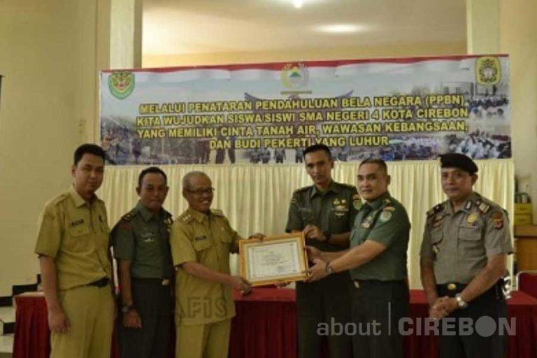 Korem 063/SGJ Bangun Sinergitas dengan SMAN 4 Kota Cirebon