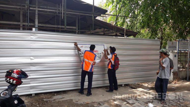 Daop 3 Cirebon Lakukan Penertiban Aset Rumah Perusahaan