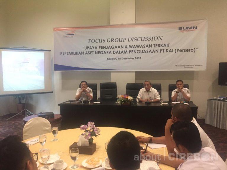 PT. KAI Daop 3 Cirebon Gelar FGD Terkait Kepemilikan Aset