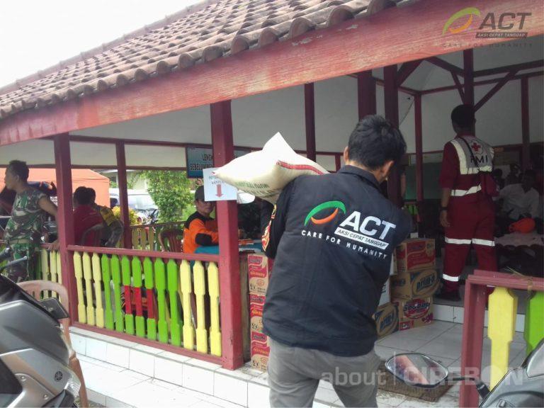 ACT Cirebon Kirim Relawan dan Bantuan untuk Korban Puting Beliung di Panguragan