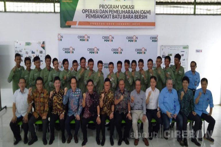 Program Vokasi Ketenagalistrikan, Cirebon Power Luluskan 19 Siswa Bersertifikat