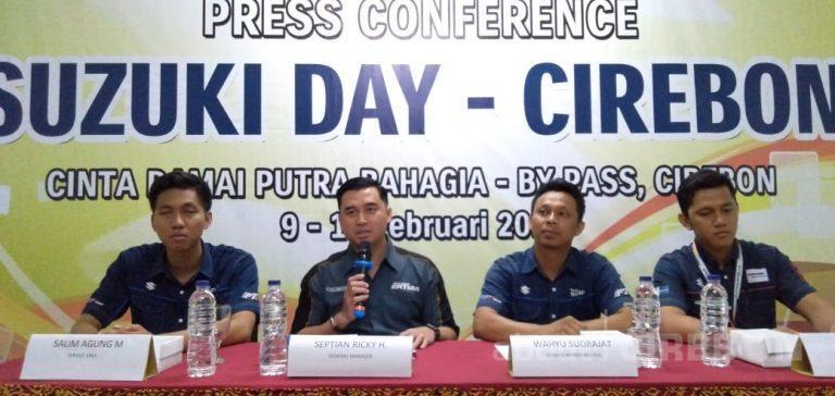 Dealer Suzuki Cinta Damai Bahagia Cirebon Gelar Suzuki Day, Ini Keuntungannya