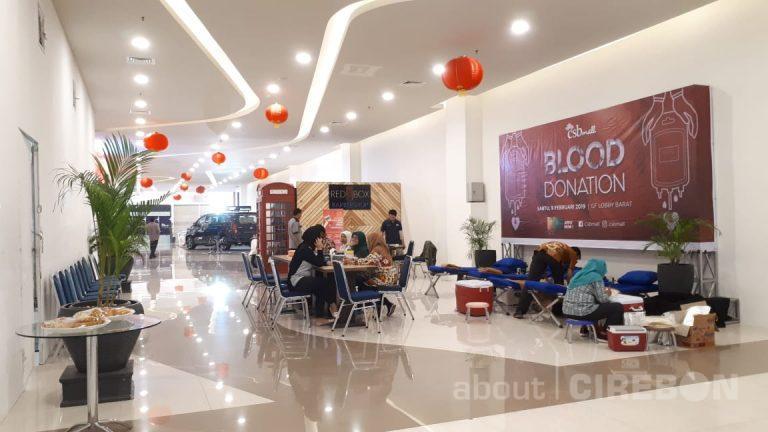 CSB Mall Gelar Donor Darah dan Cek Kesehatan Gratis
