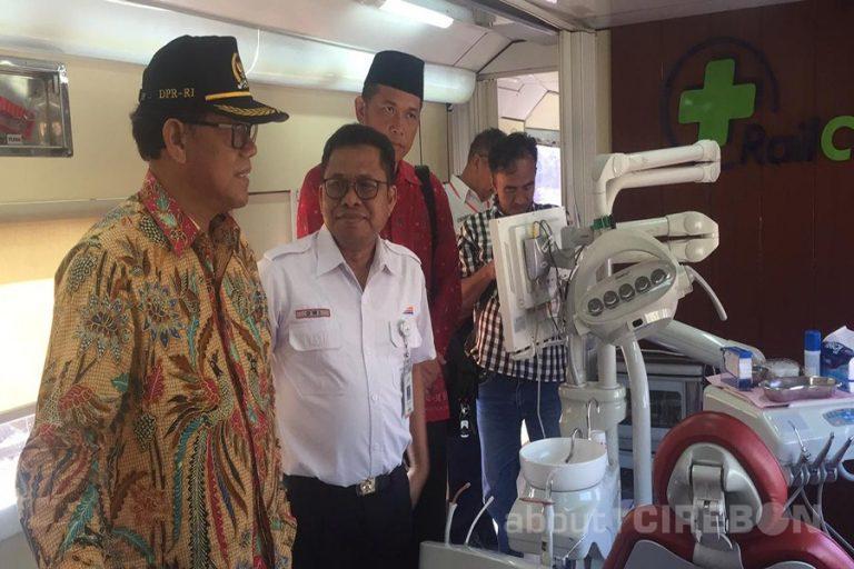 Komisi V DPR-RI Sambut Baik Kegiatan Bakti Sosial Dengan Rail Clinic