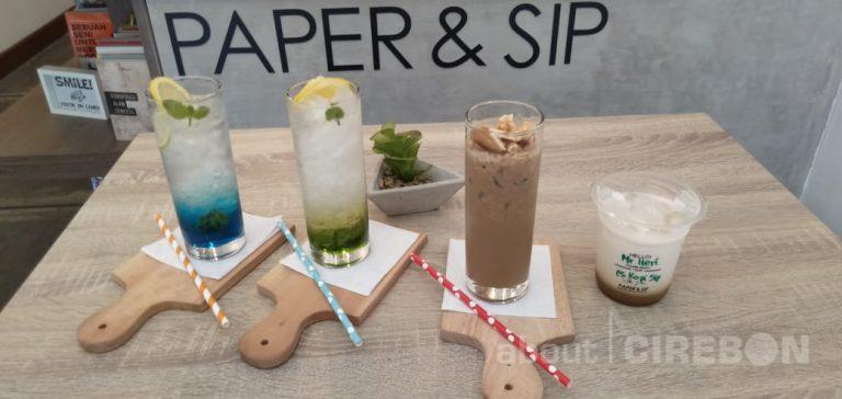 Paper & Sip Tempat Ngopi Baru di Cirebon, Ini Menu yang Ditawarkan