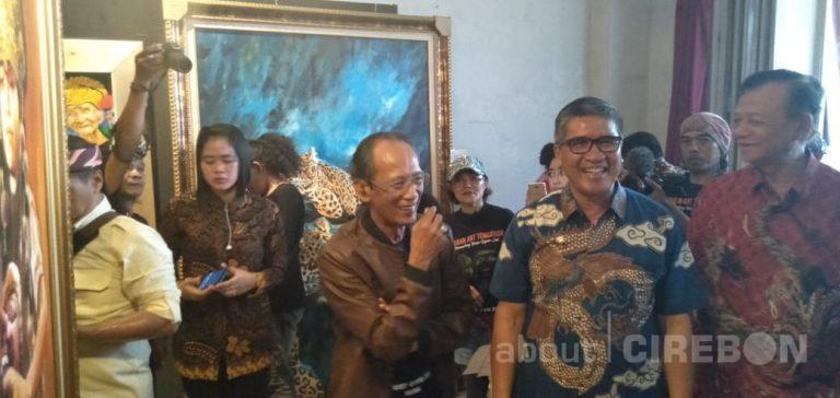 Sebanyak 66 Perupa Menggelar Pameran Lukisan Caruban Art Tomorrow