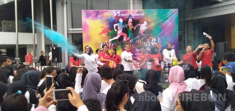 Peringati Hari Kartini, Swiss-Belhotel Cirebon Gelar Color Fun Run 2019