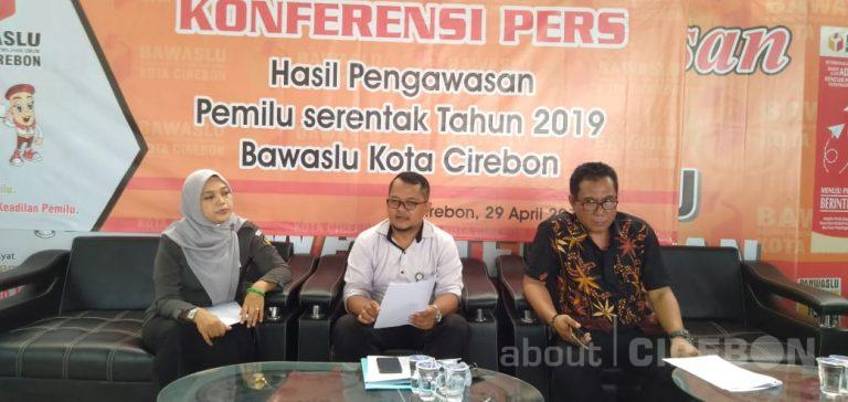 Bawaslu Kota Cirebon Umumkan Hasil Pengawasan Pemilu Serentak Tahun 2019