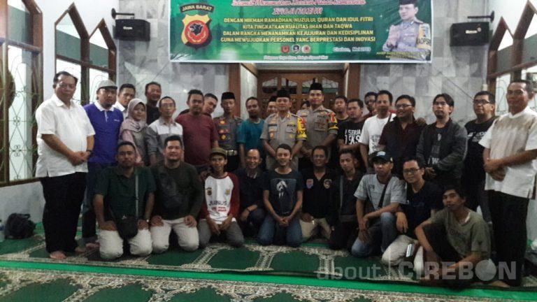 Jalin Silaturahmi, Polres Cirebon Gelar Buka Puasa Bersama dengan Jurnalis