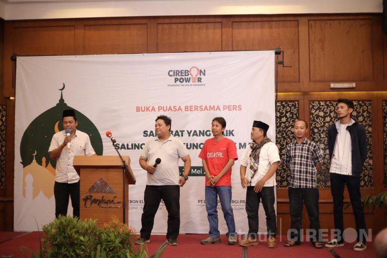 Ketika Puluhan Wartawan Cirebon Ditantang Jadi Da'i di Acara Bukber Bersama Cirebon Power