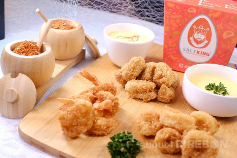 Saus Telur Asin Khas Salt King Ramaikan Kuliner di Cirebon