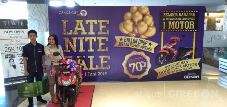 Catat Tanggalnya, Late Night Sale di Grage City Mall dan Grage Mall Siapkan Hadiah Motor