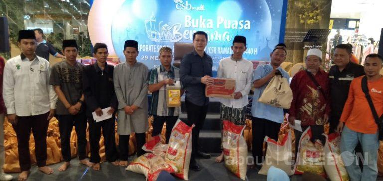 CSB Mall Undang 250 Anak Yatim di Acara Buka Bersama
