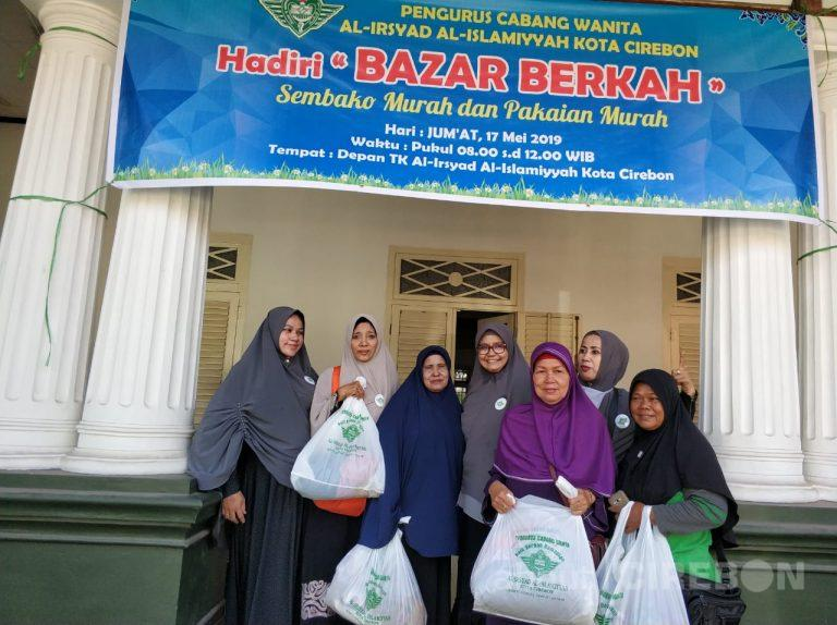 Pengurus Cabang Wanita Al-Irsyad Al-Islamiyyah Kota Cirebon Gelar Bazar Berkah