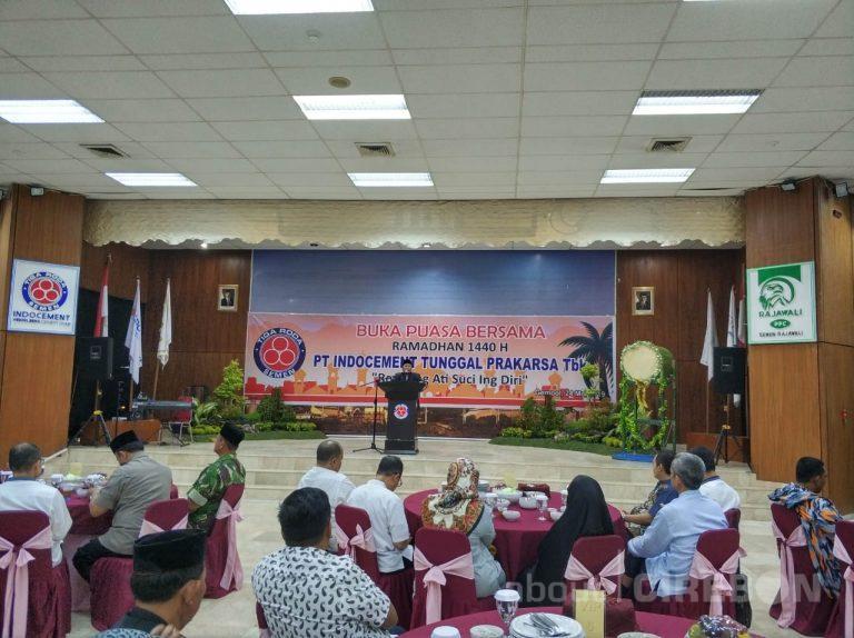 Meriahnya Buka Puasa Bersama di Indocement Cirebon