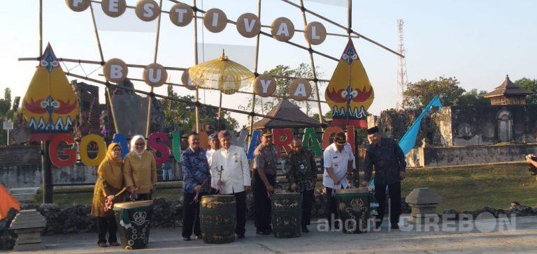 Pembukaan Festival Budaya Sunyaragi 2019 Berlangsung Meriah