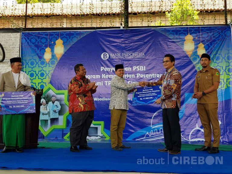 Silaturahmi TPID Ciayumajakuning, BI Cirebon Serahkan Program Bantuan Bank Indonesia