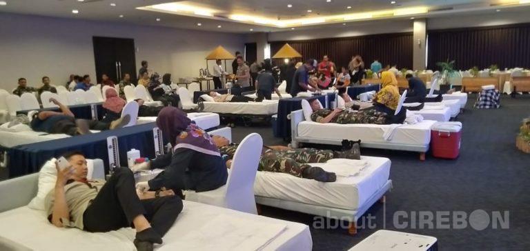 Jadi Agenda Rutin, Aston Cirebon Hotel Gelar Donor Darah