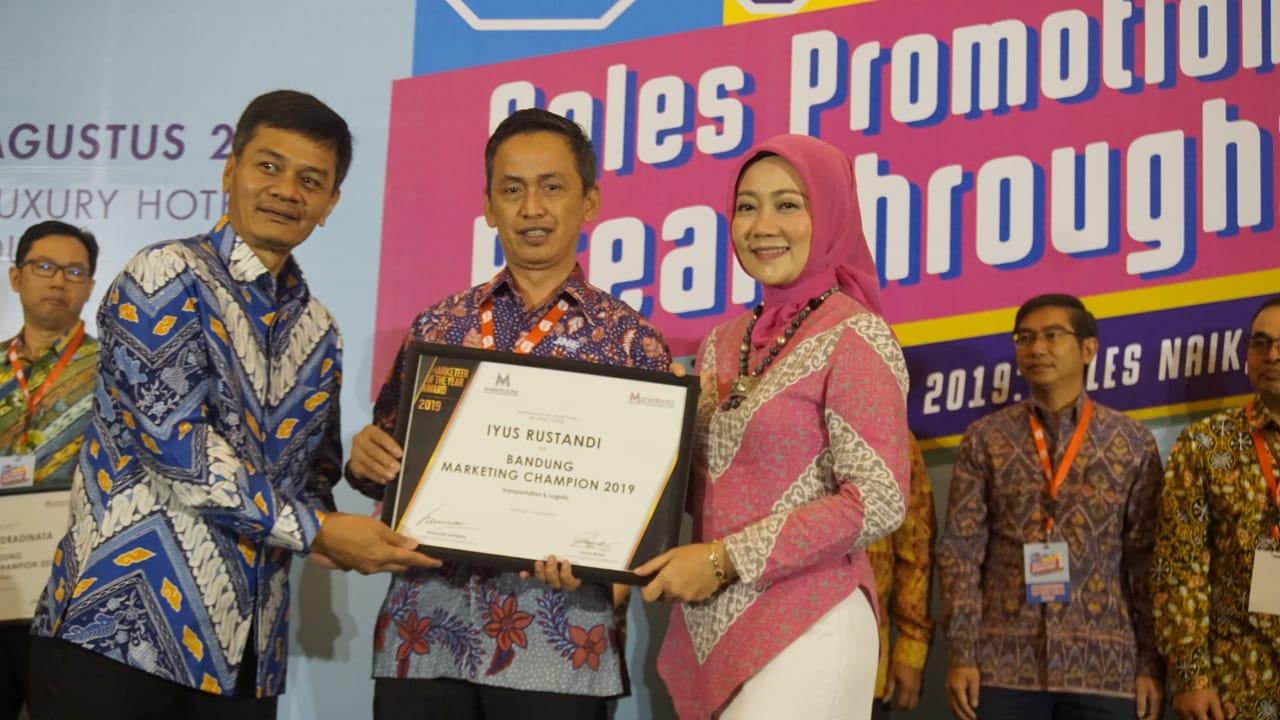 JNE Borong 4 Penghargaan di Indonesia Marketeers Festival 2019