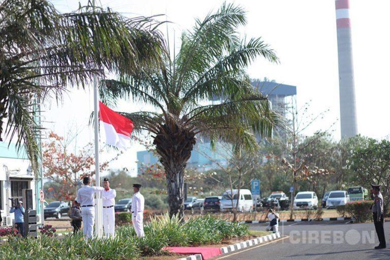 Seluruh Karyawan Cirebon Power Melaksanakan Upacara Peringatan HUT Kemerdekaan RI