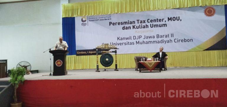 Kanwil DJP Jawa Barat II Resmikan Tax Center di Universitas Muhammadiyah Cirebon