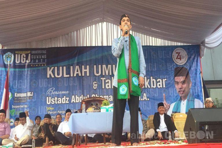 Ribuan Jamaah Padati Kuliah Umum dan Tabligh Akbar bersama Ustadz Abdul Somad di UGJ
