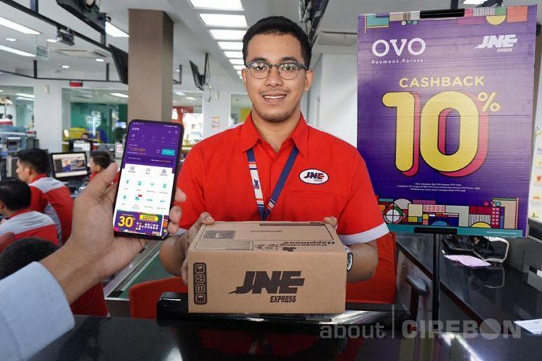Mudahkan Pelanggan JNE, Pembayaran Transaksi Bisa Dengan OVO