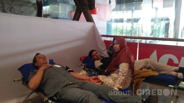 Menuju 20 Ribu Kantung Darah, Ace Hardware Living Plaza Cirebon Gelar Donor Darah