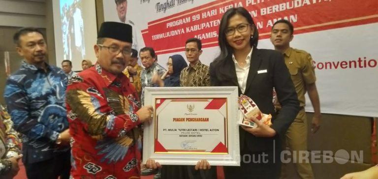 Aston Cirebon Hotel Terus Menerus Dapat Penghargaan Teladan Pajak