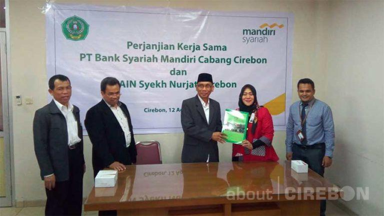 Bank Syariah Mandiri Cirebon dan IAIN Syekh Nurjati Cirebon Lakukan Perjanjian Kerja Sama