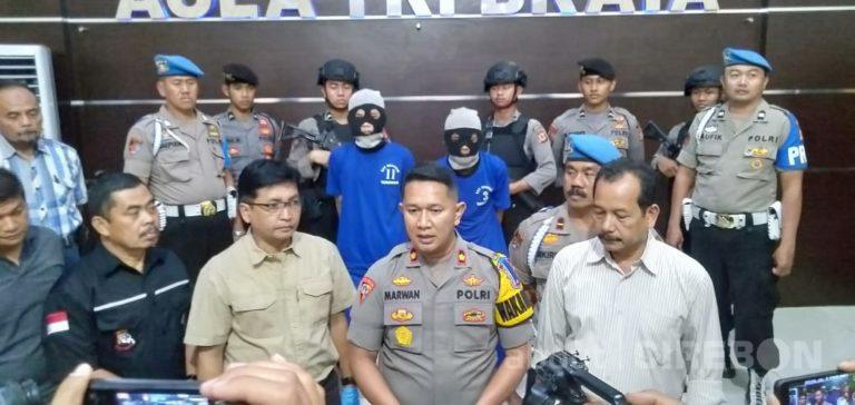 Polres Cirebon Kota Berhasil Tangkap Pelaku Penusukan Santri di Jalan Cipto