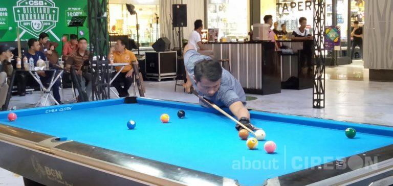 64 Peserta dari Berbagai Daerah Ikuti CSB Billiard Tournament Seri #3