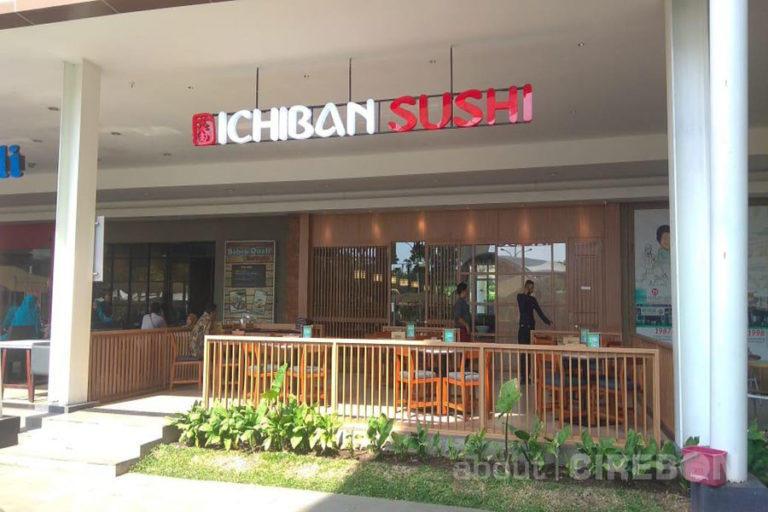 Ichiban Sushi Kini Hadir di Grage Mall dan Grage City Mall, Dapatkan Promo Free Sushi Roll