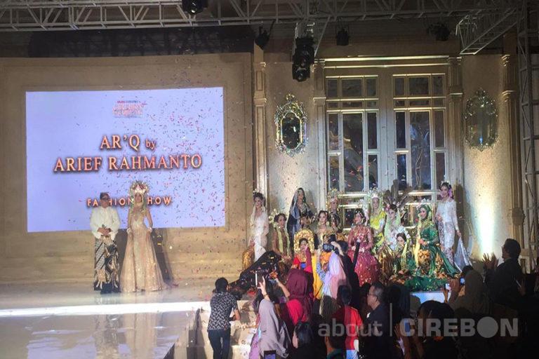 Ar'Q by Arief Rachmanto Kenalkan Koleksi Terbaru di Penutupan Cirebon Wedding Festival 1.0