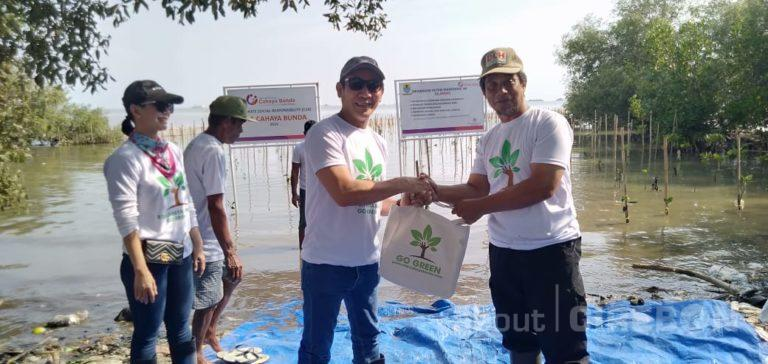 Ulang Tahun ke-5, RSIA Cahaya Bunda Cirebon Tanam 2.000 Bibit Pohon Mangrove