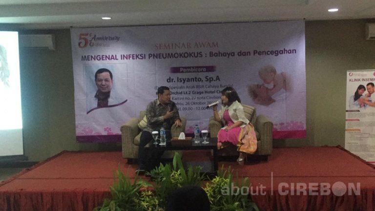 Seminar Awam RSIA Cahaya Bunda Pentingnya Vaksin PCV dan Mengenal Infeksi Pneumokokus